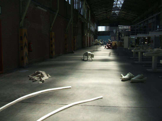 infernopolis, Atelier van Leishout. foto by fede